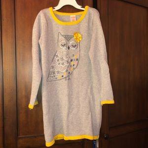 Gymboree girls sweater dress.